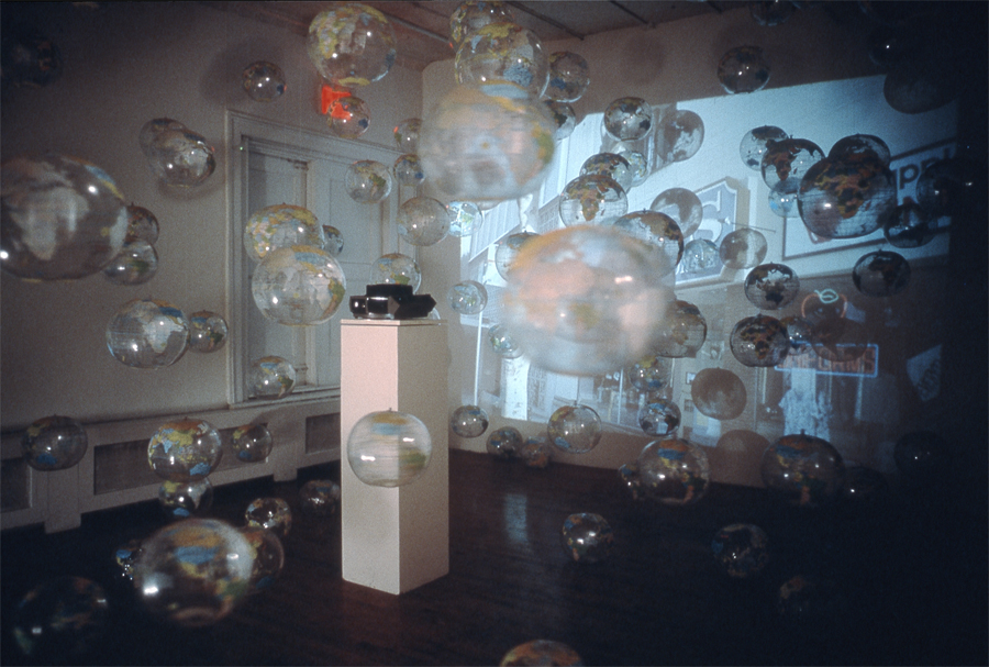 Axis, 1998, Installation View